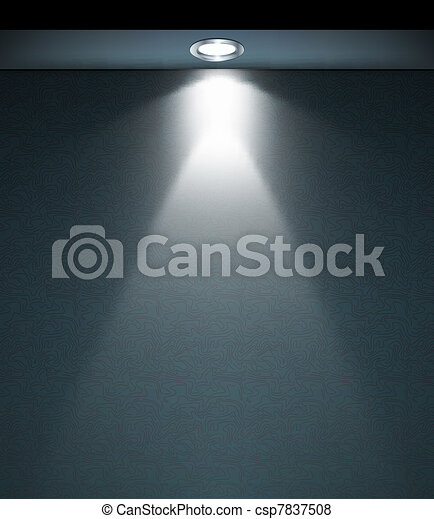 Vector of Lighted Wall Lamp. Vector art illustration background csp7837508 - Search Clip Art ...