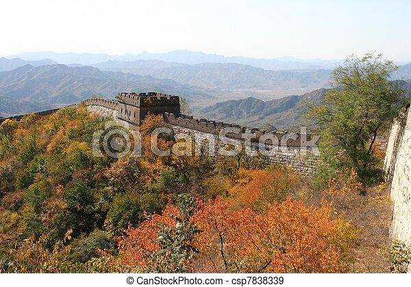 Great Wall of China - csp7838339