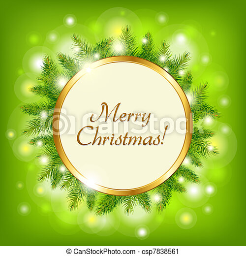 Merry Christmas - csp7838561