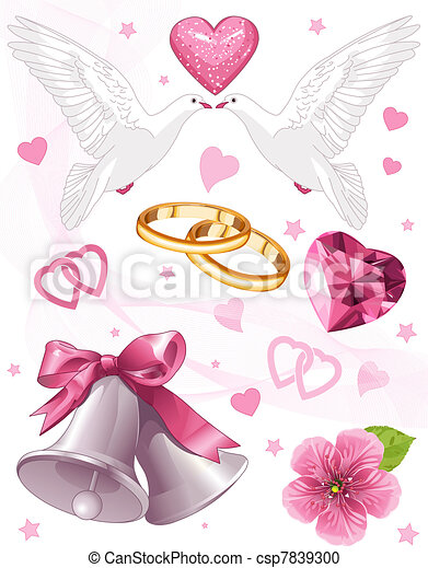 Wedding art - csp7839300