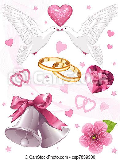 Wedding art - csp7839300
