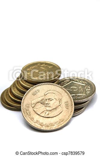Alama Iqbal Coin, Sub-continent poet - csp7839579