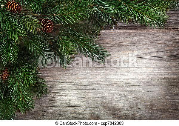Christmas decorations - csp7842303