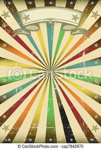 Multicolore vintage background - csp7842970