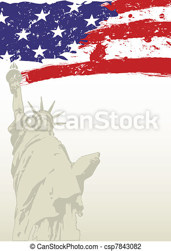 statue of liberty - csp7843082