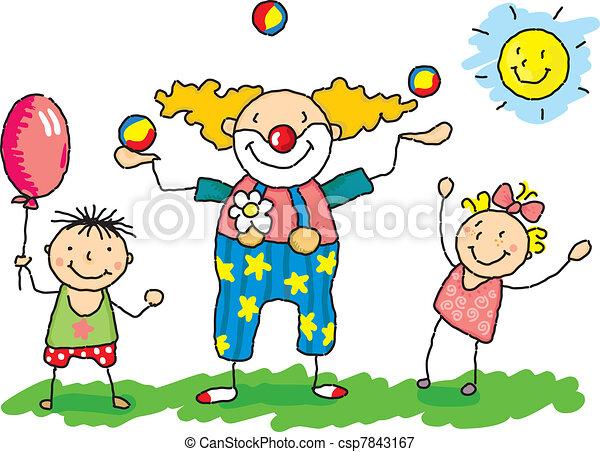 clowni - csp7843167