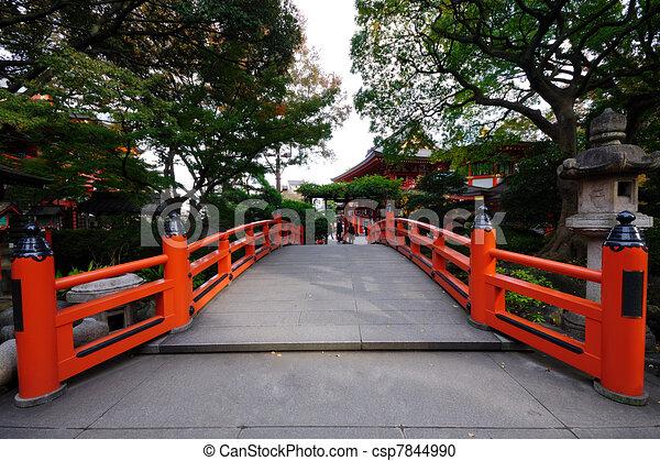 red bridge. - csp7844990