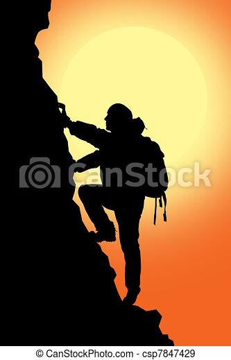 rock climbing - csp7847429