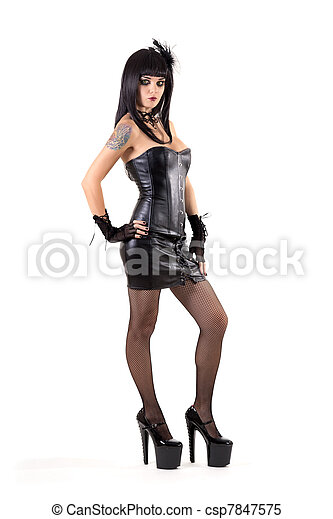 sexig outfit 18 cm kuk