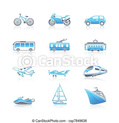 Transportation icons | MARINE serie - csp7849638