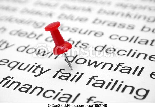 Financial fail - csp7852748