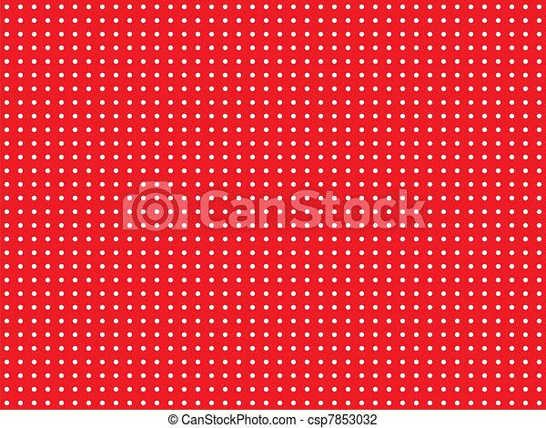 Red polka dot - csp7853032