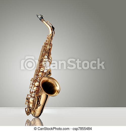 Saxophone Jazz instrument - csp7855484