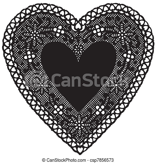Vintage Hearts Vector Vintage Heart Shaped Black
