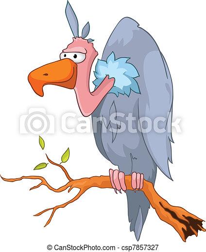 Cartoon Character Griffon - csp7857327