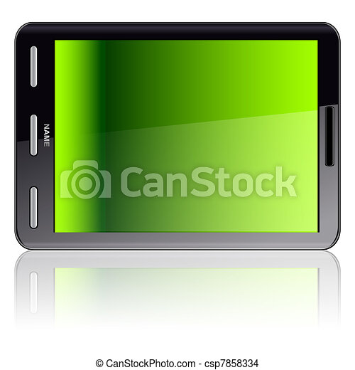 Vertical Tablet computer  - csp7858334