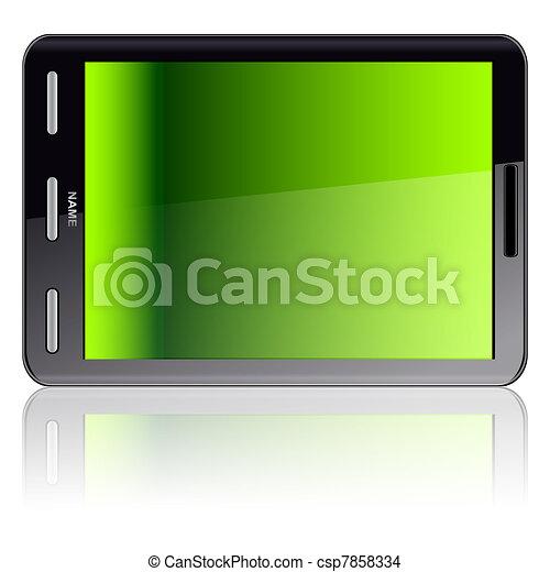 Vertical Tablet computer  - csp7858334