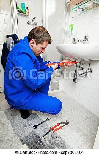 sink plumbing repairs - csp7863404