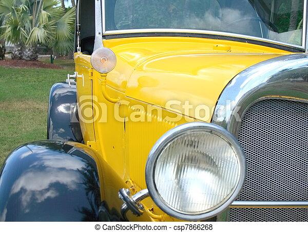 Vintage automobile - csp7866268