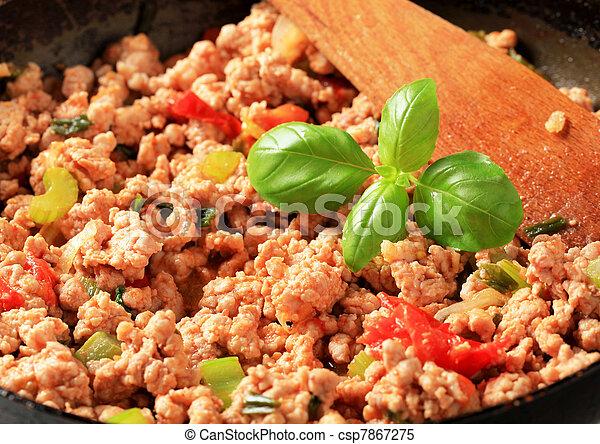 Ground meat stir fry - csp7867275