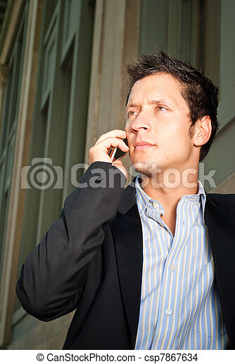Man in Casual Business Attire - csp7867634