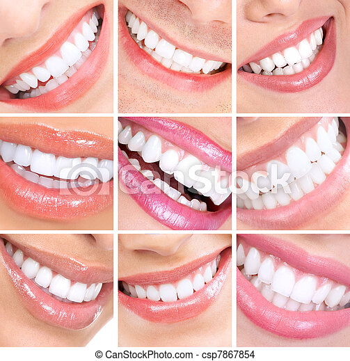 Smile and teeth. - csp7867854