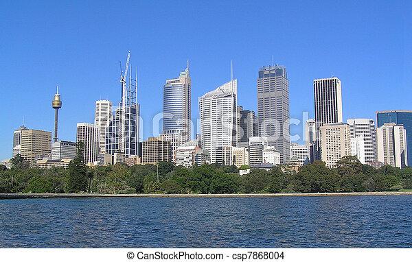 Sydney Skyline - csp7868004