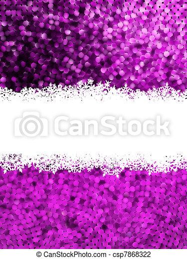 Christmas Shine mosaic background. EPS 8 - csp7868322