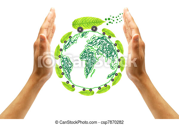 protect the environment concept  - csp7870282