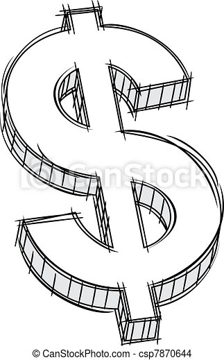 Coloring Pages Of Dollar Signs