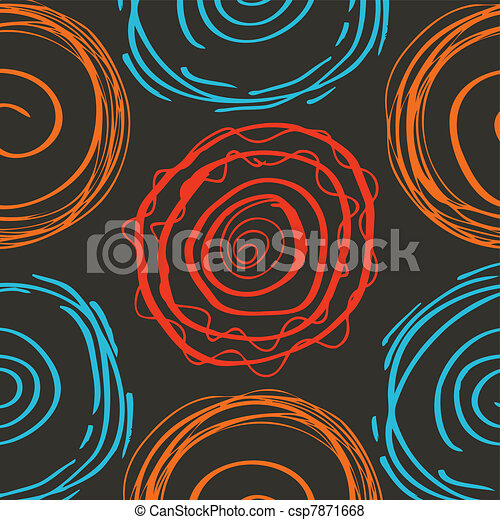 Spiral vector background - csp7871668