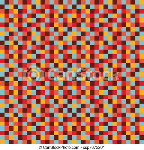Colorful mosaic background - csp7872201