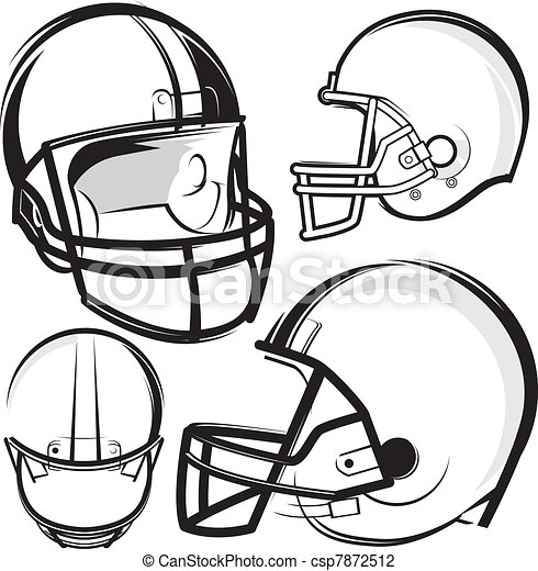 Football Helmets - csp7872512