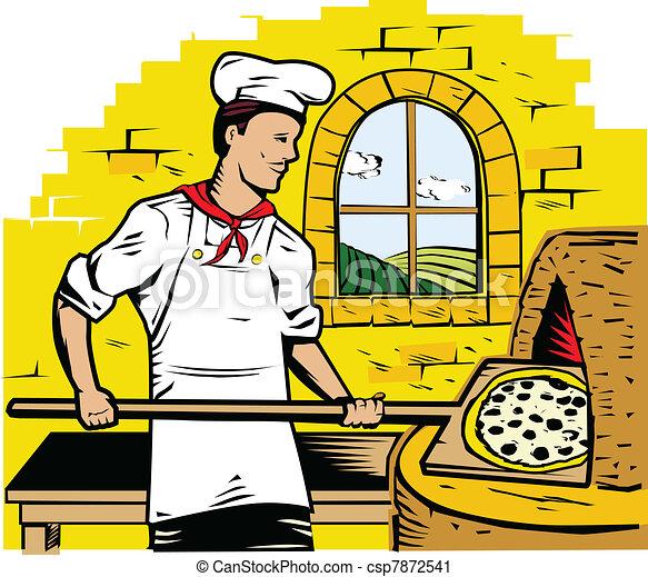 Stone Pizza Clip Art