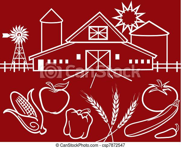 Farmers Market - csp7872547