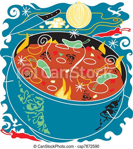 Chili Soup - csp7872590