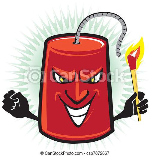 Dynamite Explosion Cartoon Dynamite Cartoon Character