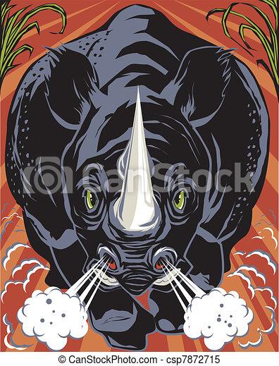 Black Rhino - csp7872715