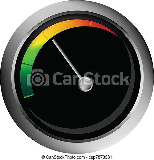 vector speedometer - csp7873381