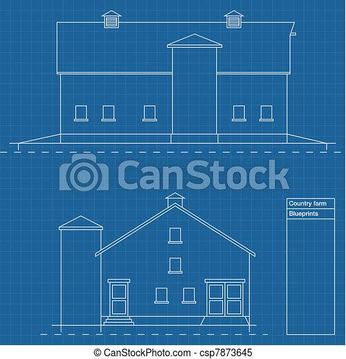 Architectural background vector - csp7873645