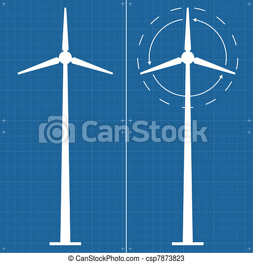 Alternative energy wind generator - csp7873823