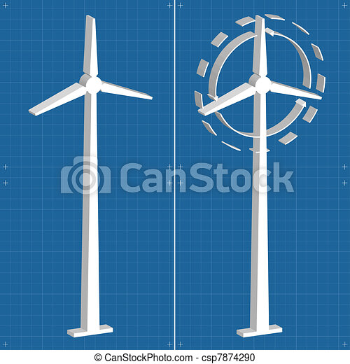 Wind generators and wind turbine - csp7874290