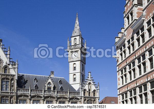 Ghent, Belgium - csp7874531