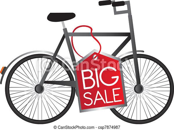 bicycle vector - csp7874987