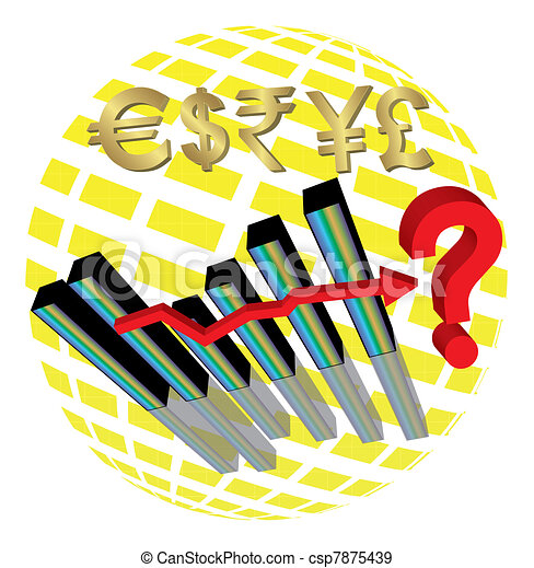 Economic Uncertainty - csp7875439
