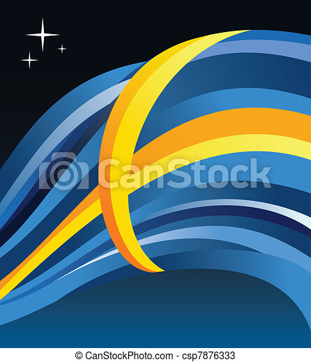 Sweden flag illustration - csp7876333