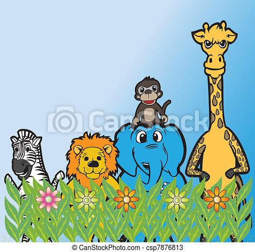 Grupo,  animal - csp7876813