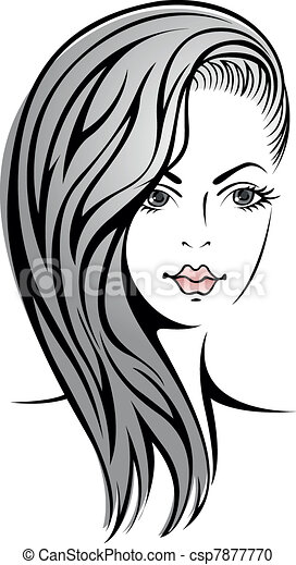 girl with blond hair - csp7877770