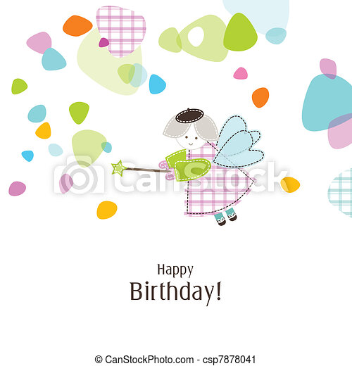 Greeting card with copy space - csp7878041