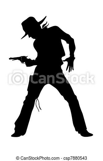 cowboy - csp7880543